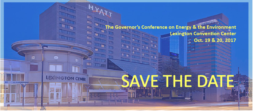 Save the Date: The 2017 Governor's Conference on Energy & the Environment is set for Oct. 19 and 20