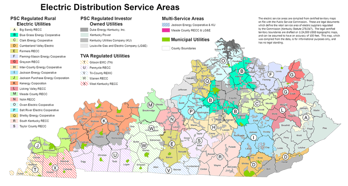 skrecc power outage map Member Electric Cooperatives Kentucky Electric Cooperatives