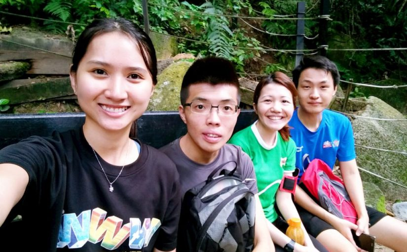 Hiking at FRIM Kepong