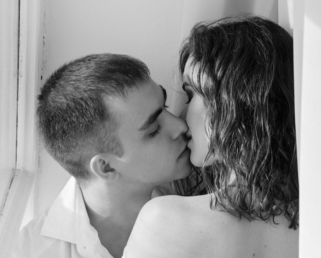 Romantic descriptions of intimate sex