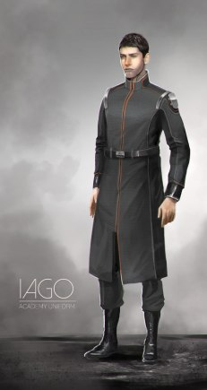 Iago Academy Costume Cocnept
