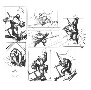 hulk_sketches