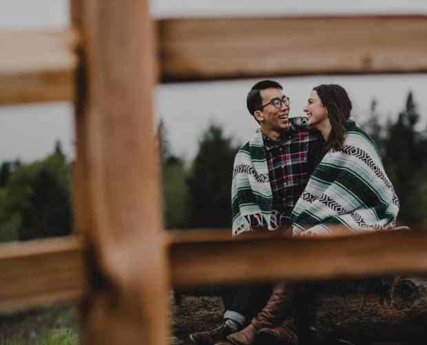 Powell Butte Engagement Photographer