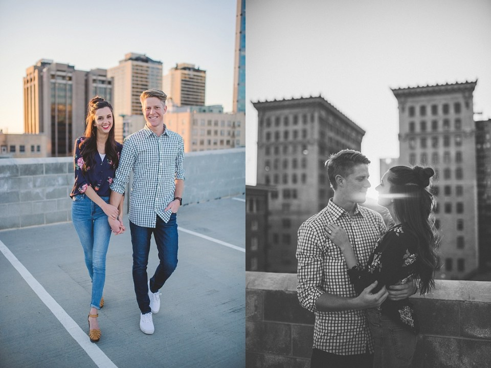 Rooftop Engagement Shoot Kylee Ann Photography SLC Photographer11