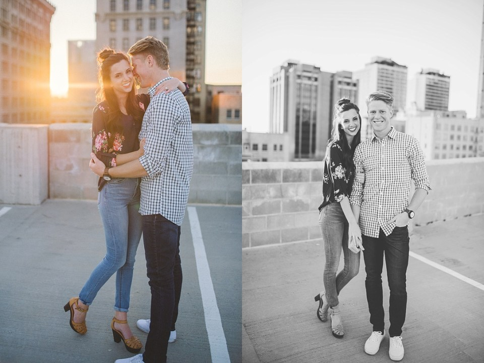 Rooftop Engagement Shoot Kylee Ann Photography SLC Photographer3