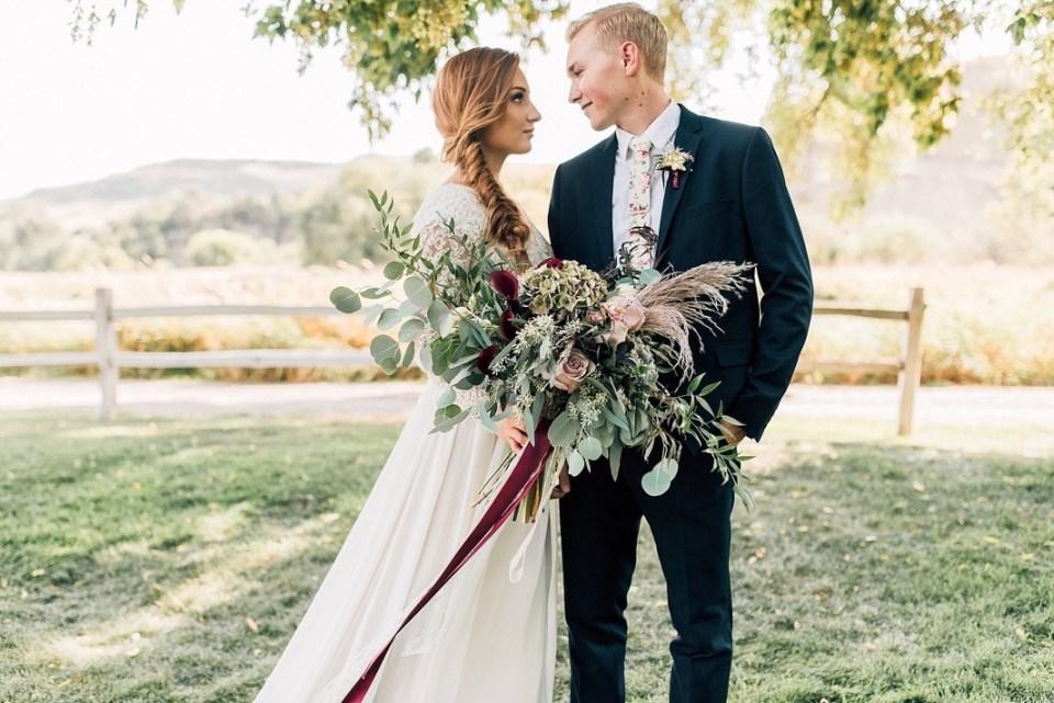 Soft Fall Styled Shoot | Sportsmans Paradise Utah Wedding Venue