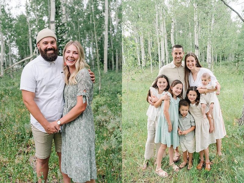 Bear Lake Extended Family Photos