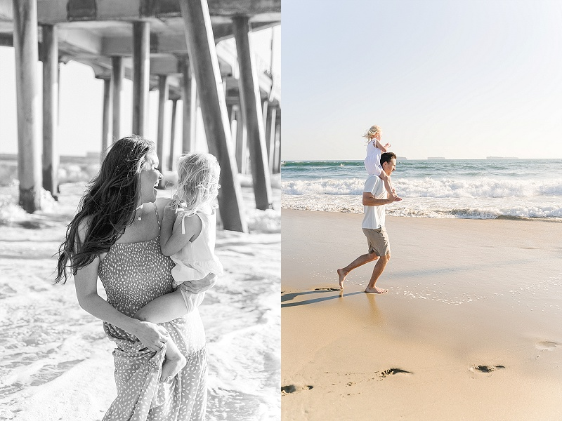 Huntington Beach family pictures