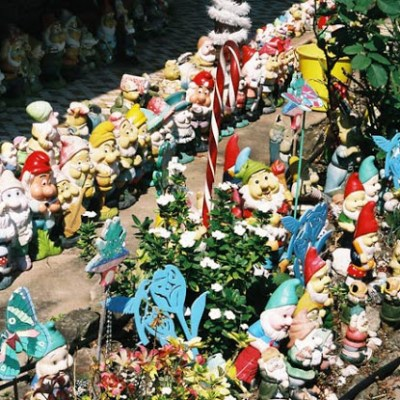At some point in my life I will have a garden gnome collection.