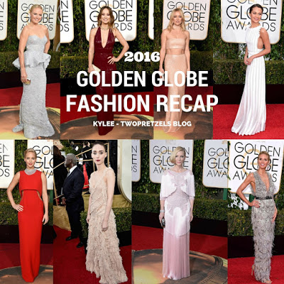 2016 Golden Globes Fashion Recap