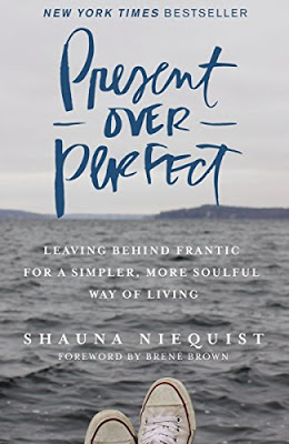 Being present, carrels, equal and starting again. A book review of Present over Perfect, by Shauna Niequist.