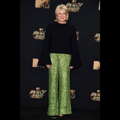 Martha Stewart went to the MTV Awards Last night