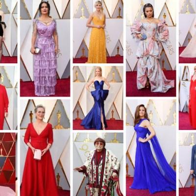 Oscar 2018 Fashion Recap