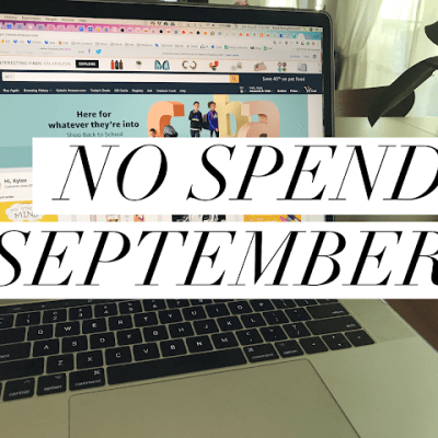 No-Spend September and the EMAIL app that you need to be using.