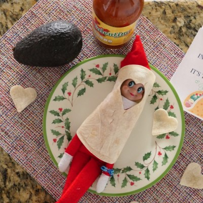Parting is such sweet sorrow, saying goodbye to our Elf on a Shelf