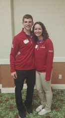 Sam and I, the facilitators for the Green Anacondas.