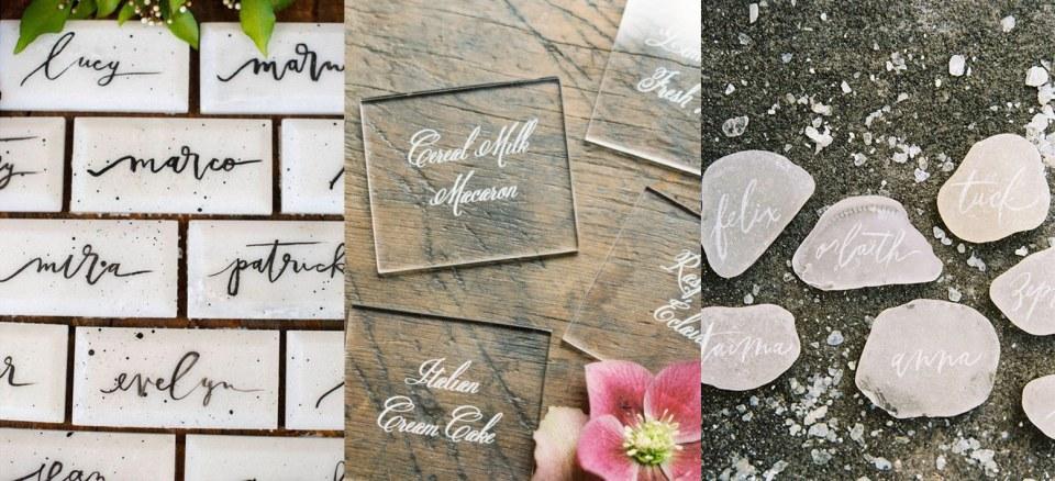 Non-Paper Escort Card | Audere Events | Lake Tahoe Wedding + Event Planner