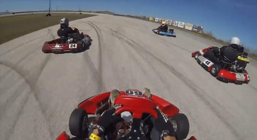 GoPro GoKart at Central Texas Speedway Kyle,Texas