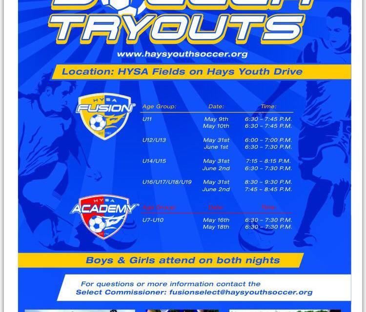 HYSA Soccer Tryouts