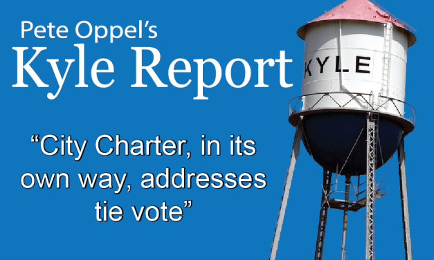 The Kyle Report: City Charter, in its own way, Addresses Tie Vote