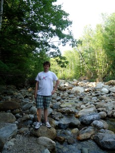 Logan at Dry River