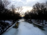Towards the Potomac River from the Catoctin Aqueduct