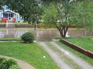 We had a little rain...