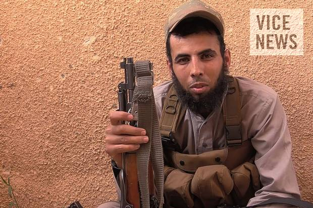 Abu Mosa, the Islamic State's press officer