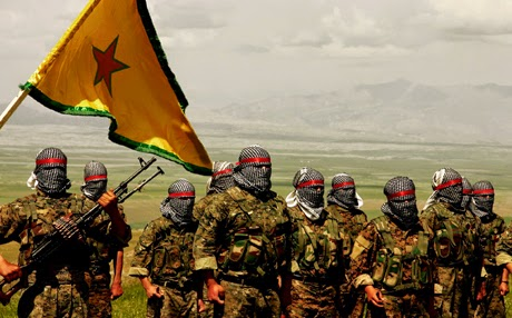 PYD/YPG soldiers