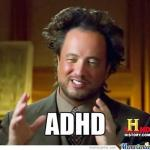 Horrifying realities of being an author with ADHD.