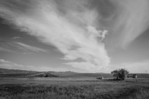 The old farm in Chesterfield, Idaho