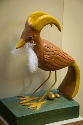 Bearded Bird