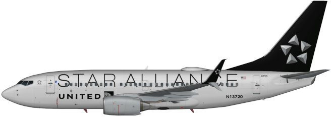 UAL N13720