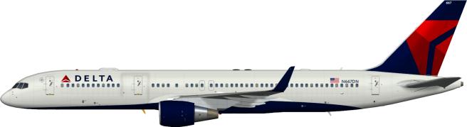 DAL N667DN