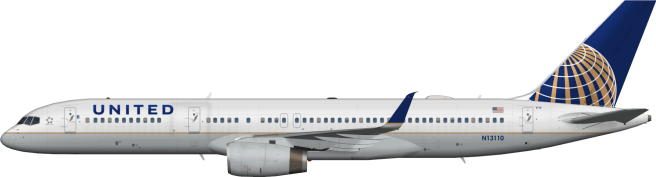 UAL N13110