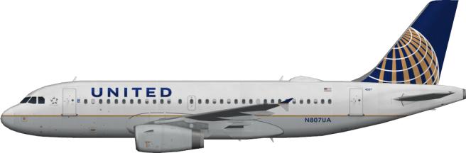 UAL N807UA