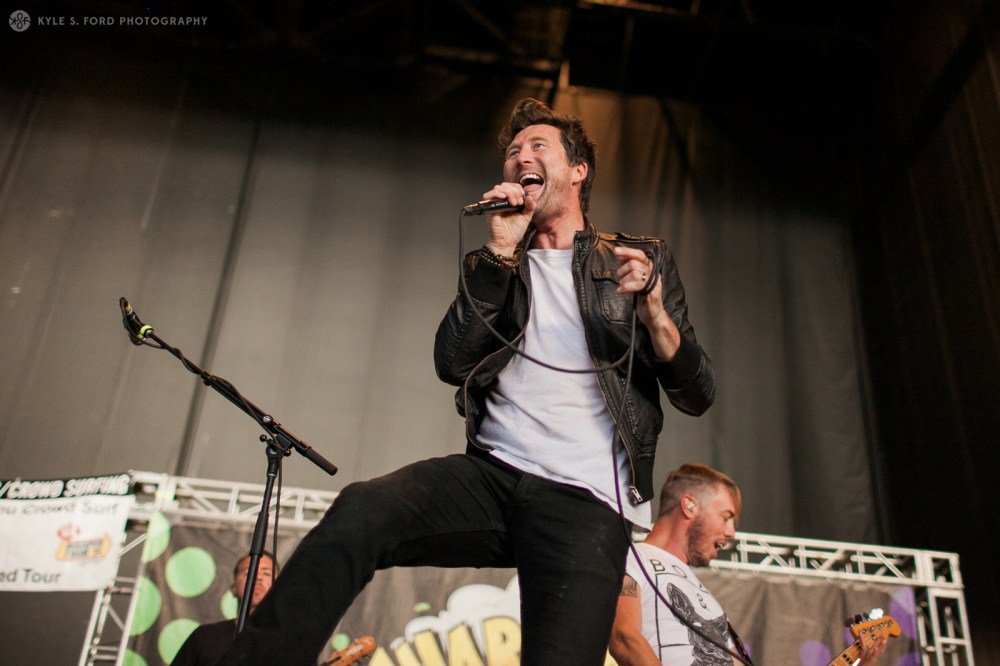 Anberlin  warped tour