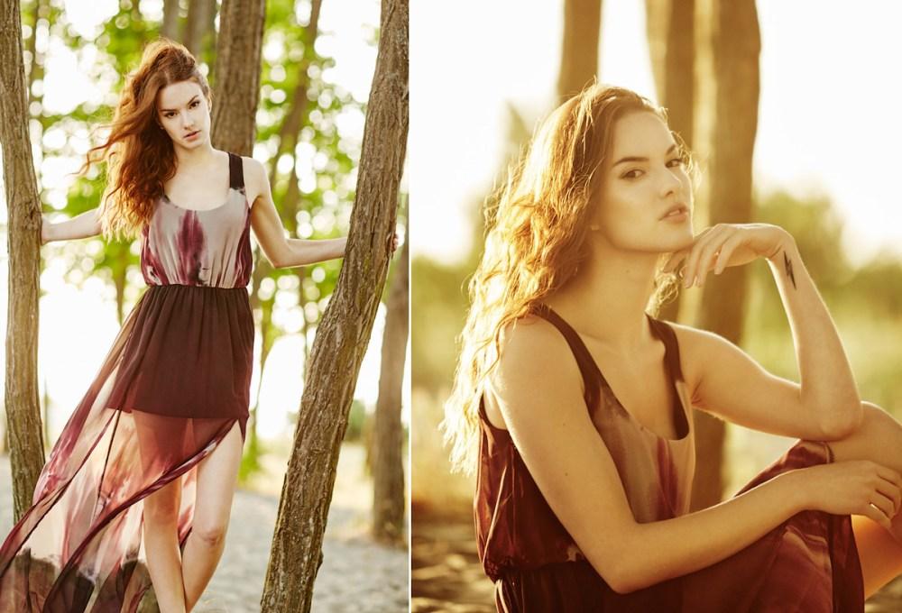 Haley McLain Golden Gardens Summer