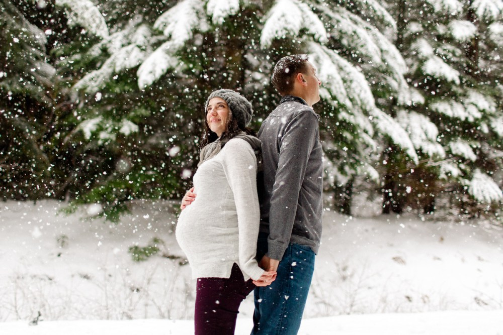 snow maternity back to back