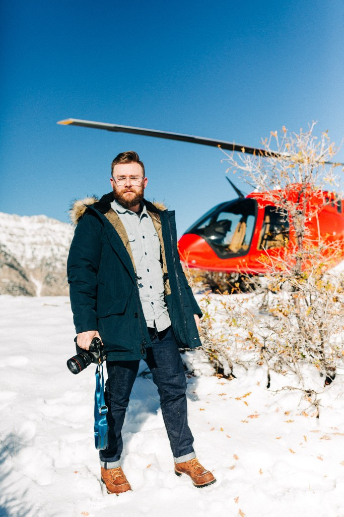 JCrew Nordic Down Parka and bell 505