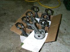85 Chevy Shortbox - engine rebuild 5