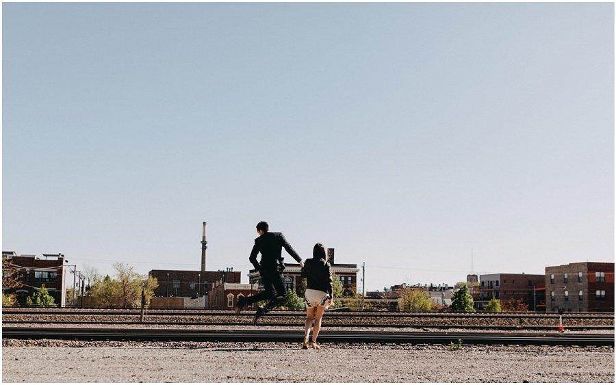 Charissa and Daniel Pilsen Couple Session