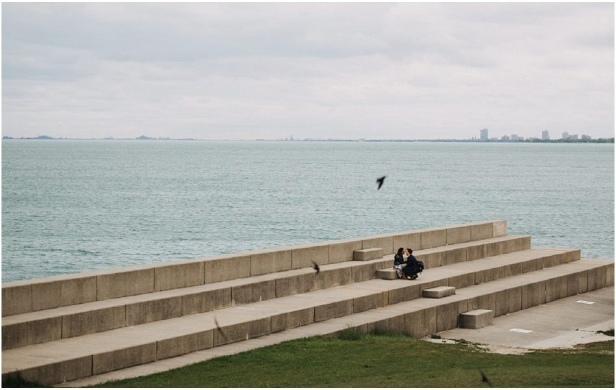 Joanna & Brandon Chicago Lakefront Proposal