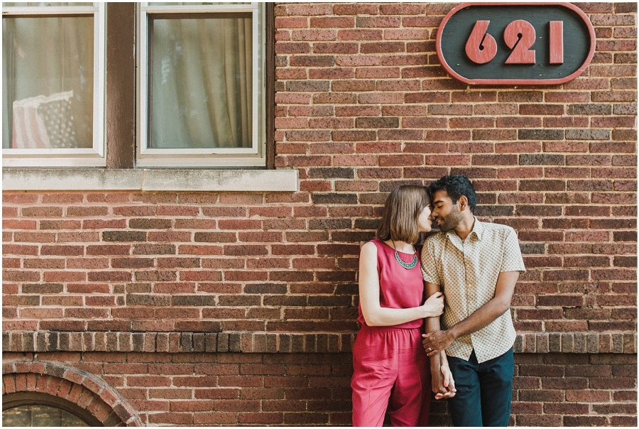 Downtown Champaign Engagement Session