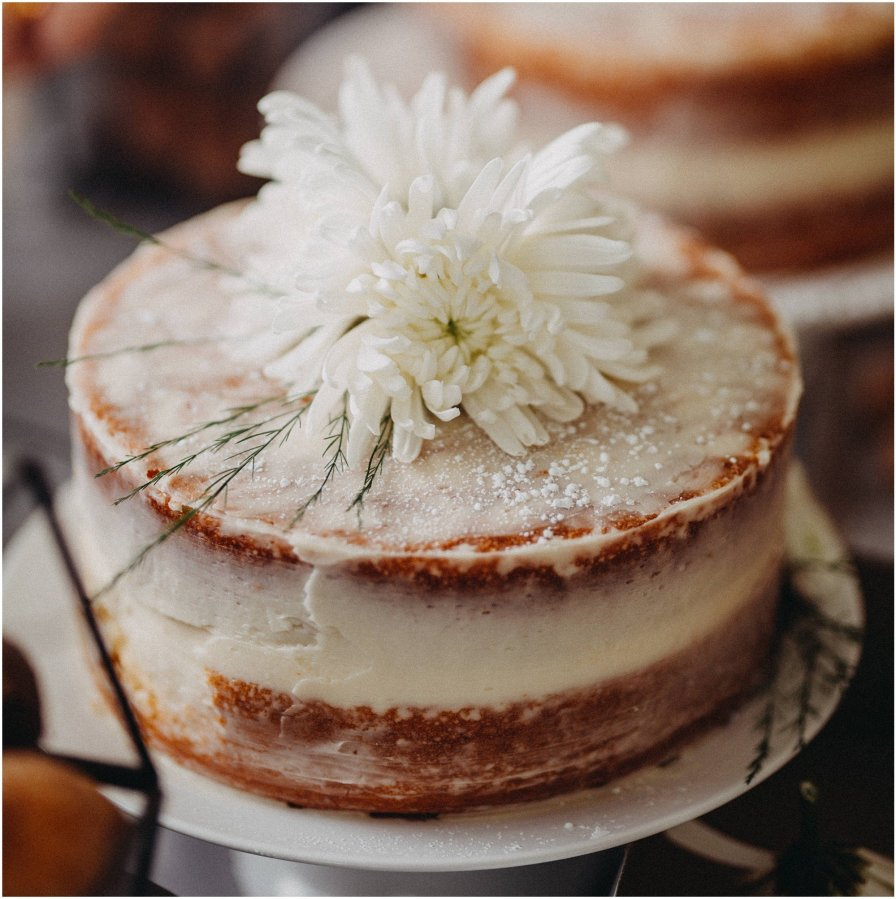 Chicago Wedding Homemade Cake