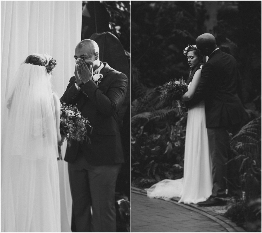 Garfield Park Conservatory Chicago Wedding Engagement Photographer