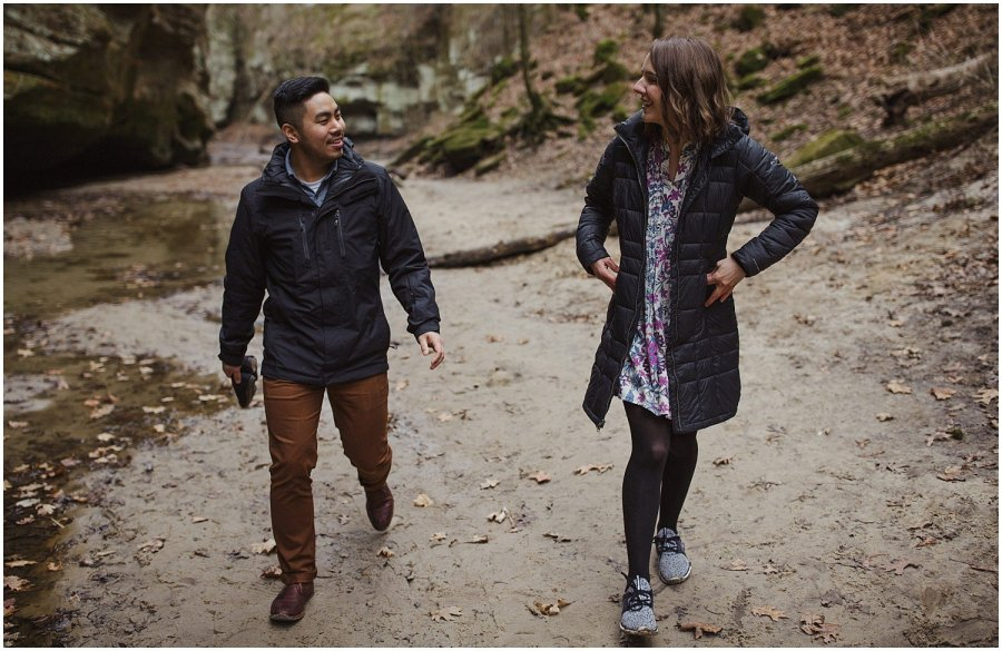 Matthiessen State Park Engagement Session