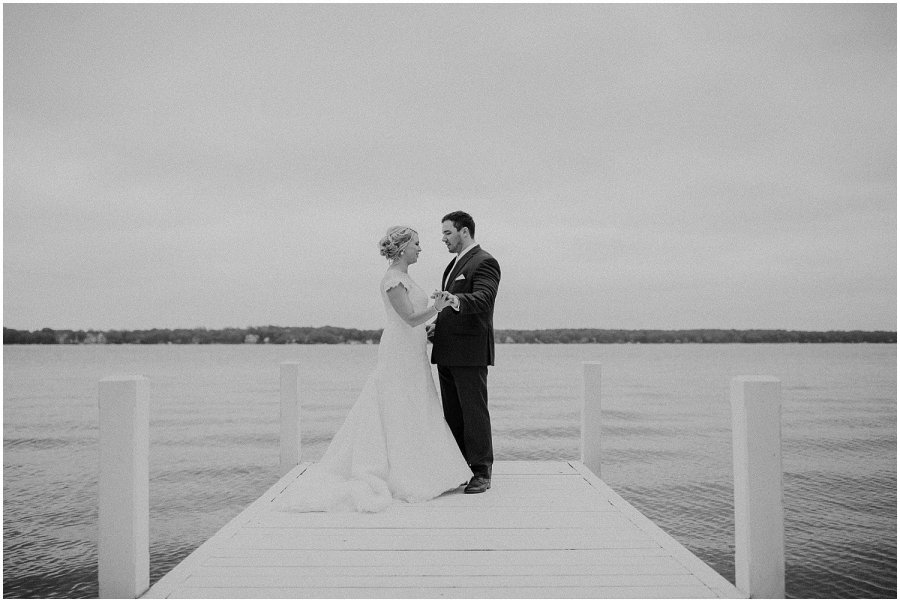 Wisconsin Lake Delavan Rosewood Wedding
