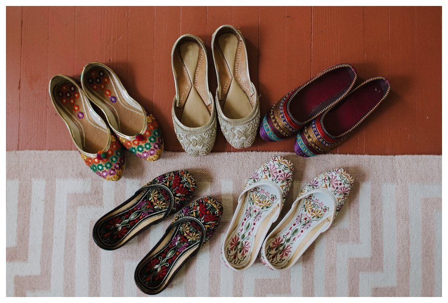 Traditional Indian Wedding Shoes