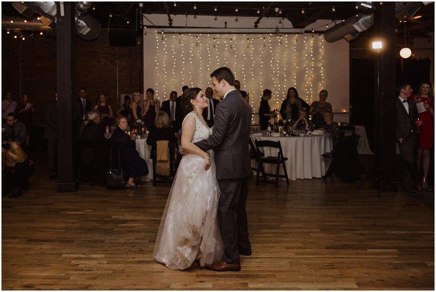wedding couple first dance bottom lounge